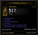 Pummel Spite Int gloves