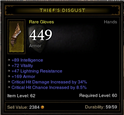 Thiefs Disgust Int Gloves