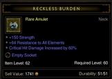 Str CritDmg Amulet
