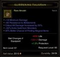 Glimmering Talisman Ammy 7-17-12