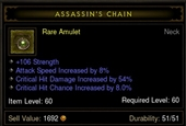 amulet-assassin's chain