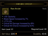 amulet-honor sweep