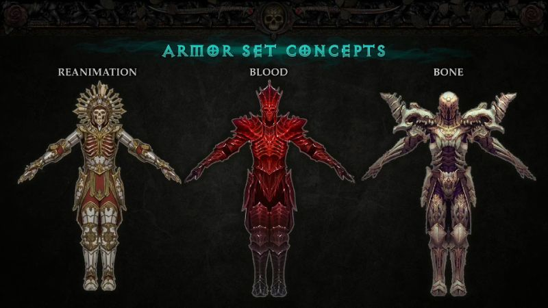 Armor Set Concepts - Necromancer