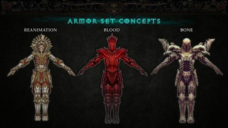Armor Set Concepts - Necromancer