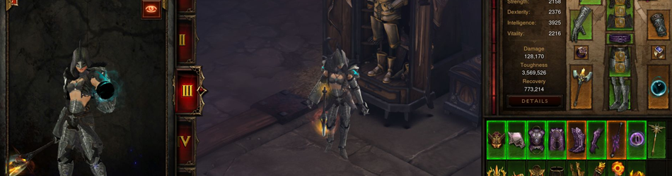 The Armory in Diablo 3 Season 10