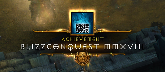 Blizzconquest MMXVIII