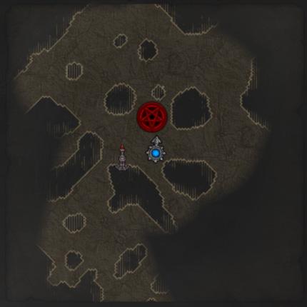 Na zemljevidu in mini zemljevidu pa se bo hkrati pojavil rdeči pentagram, da ne bomo slučajno zgrešili kakšnega Primal kosa opreme