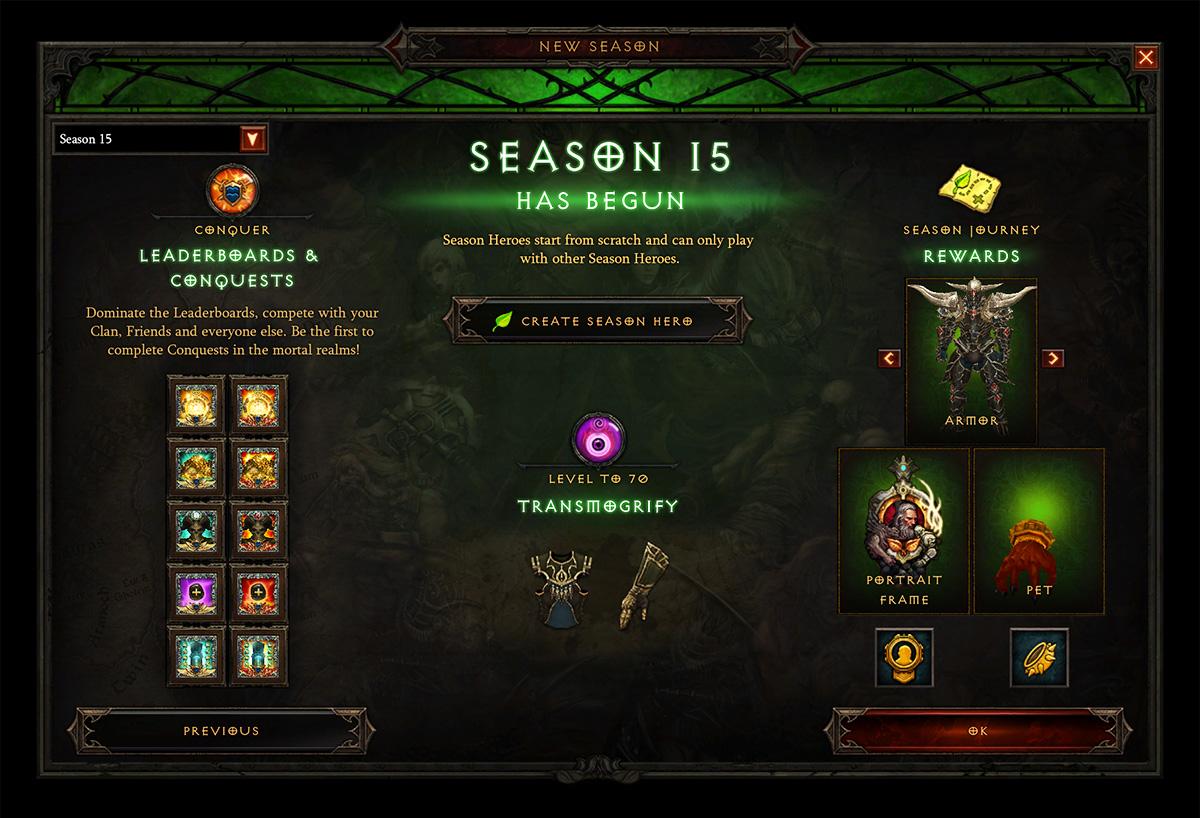 Season 15 Theme Revealed - News - DiabloFans