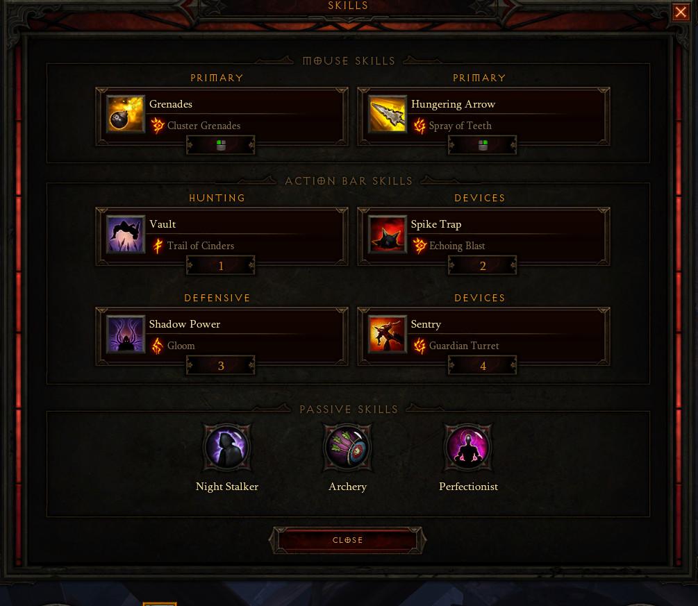 Diablo  Demon Hunter Quiver For Grenadier Build