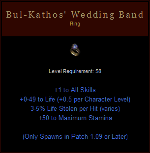 Bul Kathos Wedding Band.Phrozendragon S Profile Member List Diablofans